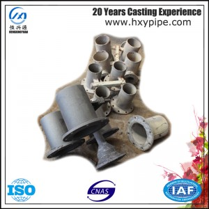 Nodular Iron Pipe Taper with Flanges